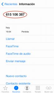 Bloquear llamadas en iPhone (1)