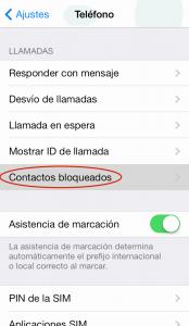 Bloquear llamadas en iPhone (4)
